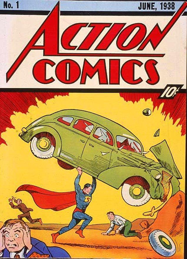 19. 1997'de yine Nicolas Cage, 2000 yılında çalınan ve daha sonra 2011'de terk edilmiş bir depoda bulunan ilk Superman çizgi romanının bir kopyası için 150.000 dolar harcadı.