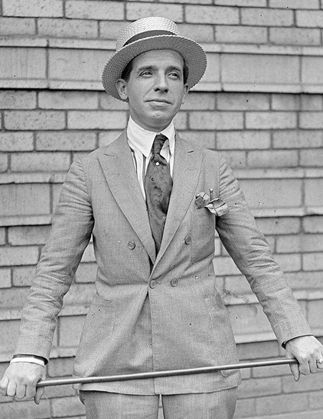 7. Charles Ponzi