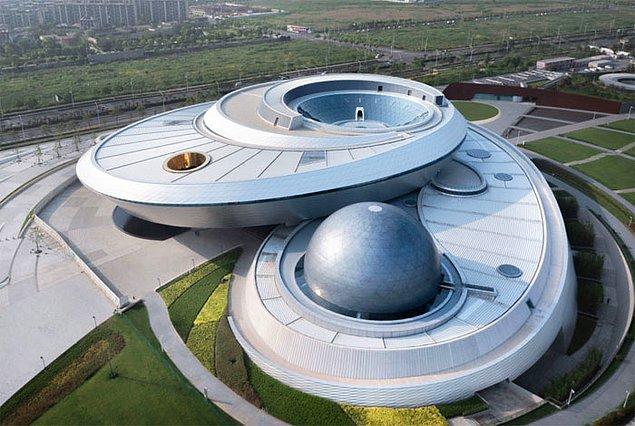 1. Şanghay Astronomi Müzesi, Çin