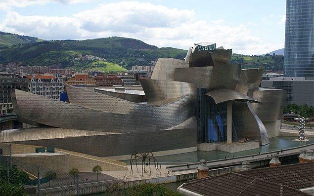 6. Guggenheim Müzesi Bilbao, İspanya