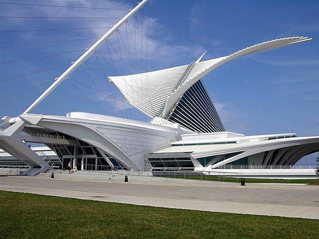 10. Milwaukee Sanat Müzesi, ABD