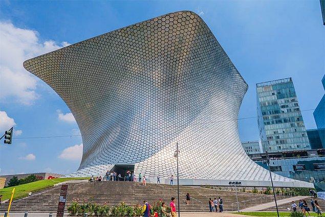 24. Soumaya Müzesi, Meksika