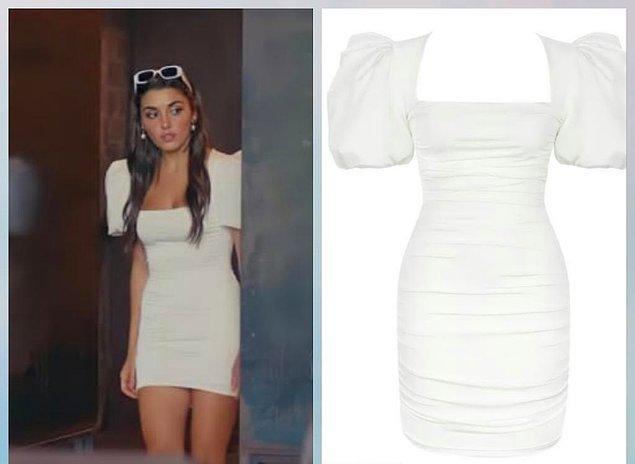 2. Sen Çal Kapımı dizisinin Eda'sı Hande Erçel'in üzerindeki  karpuz kollu elbisenin markası Love on Friday.