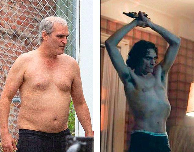 15. Joaquin Phoenix 'Disappointment Blvd' filmindeki rolü için kilo aldı. 'Joker' olmak için aşırı zayıflayan Phoenix, yeme bozukluğu yaşamaya başlamıştı.