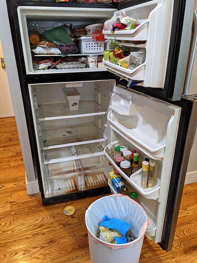 """5. """"Tatilden döndüğüm zaman buzdolabımın 10 gündür çalışmadığını fark ettim."""""""
