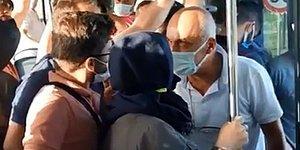 İstanbul'da Otobüste Maske Tartışması: Şoför Konuşarak Otobüsten İndirdi