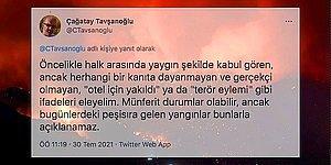 Türkiye'yi Alev Alev Yakan Yangınların Sebebiyle İlgili Konunun Uzmanından Gelen Açıklamayı Okumalısınız