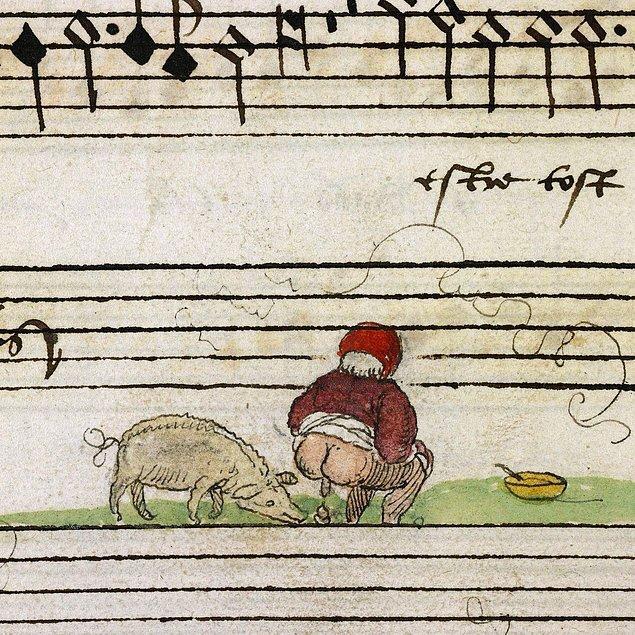 Tizler, Pesler, Tenor ve Bass bölümlerinden meydana gelen müzik kitabı, önce özel bir kütüphanede korunsa da daha sonra Fransız İhtilali ile halk kütüphanesine taşınıyor.