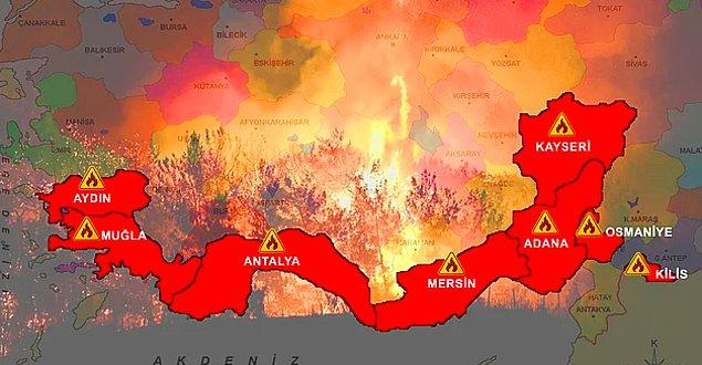 Yangınlar kontrol altına alınmaya çalışılıyor ancak imkanlar yetersiz...Ağaçlarımız, ciğerlerimiz, hayvanlarımız, evlerimiz, insanların geçim kaynakları, bağları ve bahçeleri cayır cayır yandı.