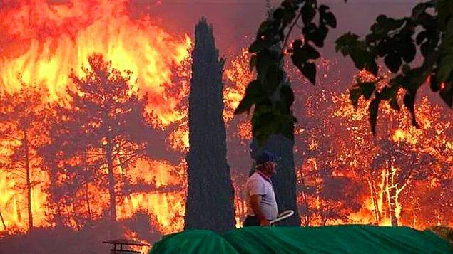 Ülkenin dört bir yanından alevler yükseliyor, kalbimiz de yanıyor. Manavgat'tan aldığımız acı haberlerden sonra peş peşe gelen yangın haberleriyle daha da kahrolduk.