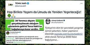 Umudu Birlikte Yeşerteceğiz! Yangının Yaralarını Sarmak İçin TEMA Başta Olmak Üzere Tüm Türkiye Seferber Oldu