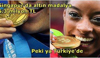 Ülkeler Olimpiyatlar'da Madalya Kazanan Sporcularına Ne Kadar Ödüyor?