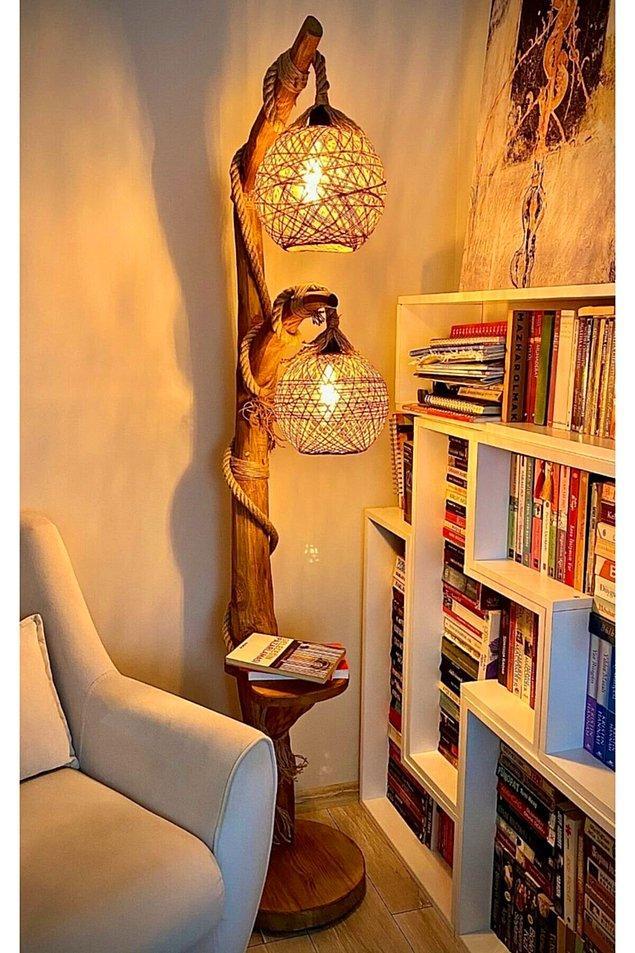 5. Ağaç lambader modellerinden en beğendiğimizi seçtik!