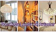 Yatak Odası Salon ve Oturma Odanızda Zevkle Kullanabileceğiniz 21 Harika Lamba Modeli