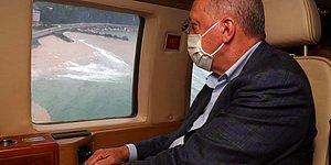 Cumhurbaşkanı Erdoğan, Yangın Bölgesine Gidiyor