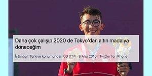 Sözünü Tuttu! Altın Madalyalı Okçumuz Mete Gazoz'un 5 Yıl Önce Attığı Tweet Tekrar Gündem Oldu