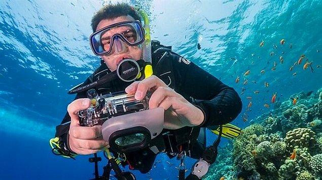 11. Su altı kamerası