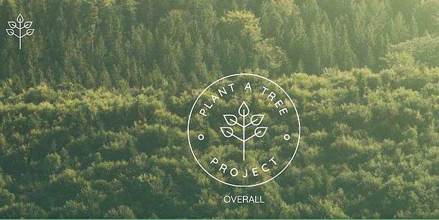 Bu hesap da kendisini Plant a Tree Project ürünü olarak sunuyor.