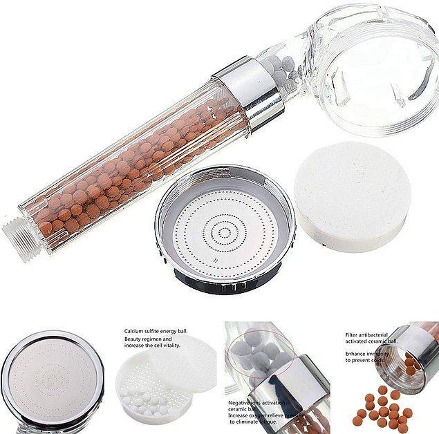 3. Su tasarruflu ve arıtmalı duş başlığı ile tasarruf edin!