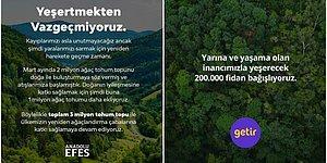 Helal Olsun Size! Orman Yangınlarına Duyarsız Kalmayan Markaların Yaptıkları Cömert Yardımlar