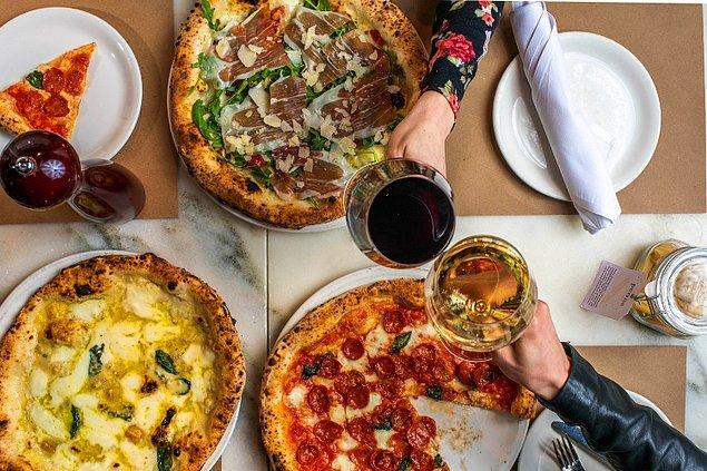 2. Pizzanın ne zaman bulunduğunu tahmin edebilir misin?