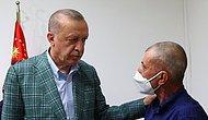 Erdoğan Yangın Söndürme Ekiplerine Su Taşırken Hayatını Kaybeden Şahin Akdemir'in Ailesini Ziyaret Etti!