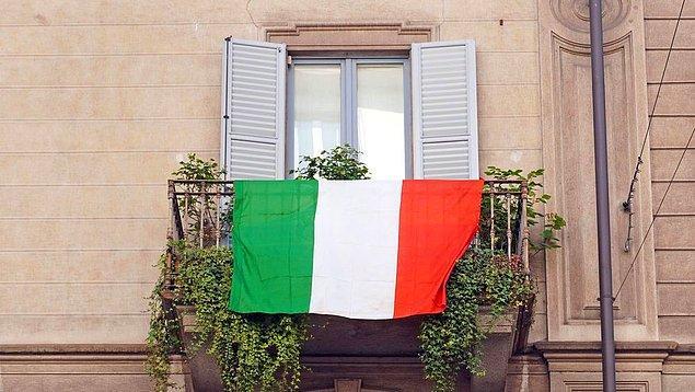 7. İtalyan bayrağının tasarımında Fransız bayrağından esinlenilmiş.