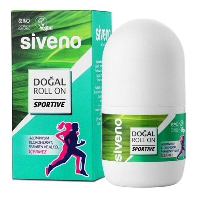 13. Doğal içeriği ile bir adım öne geçen Siveno roll-on ter kokusundan mümkün olduğu kadar uzak durmak isteyenlerin tercihi...