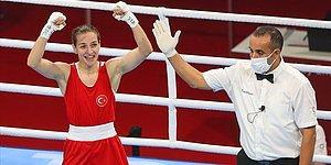 Milli Boksör Buse Naz Çakıroğlu Olimpiyat Madalyasını Garantiledi