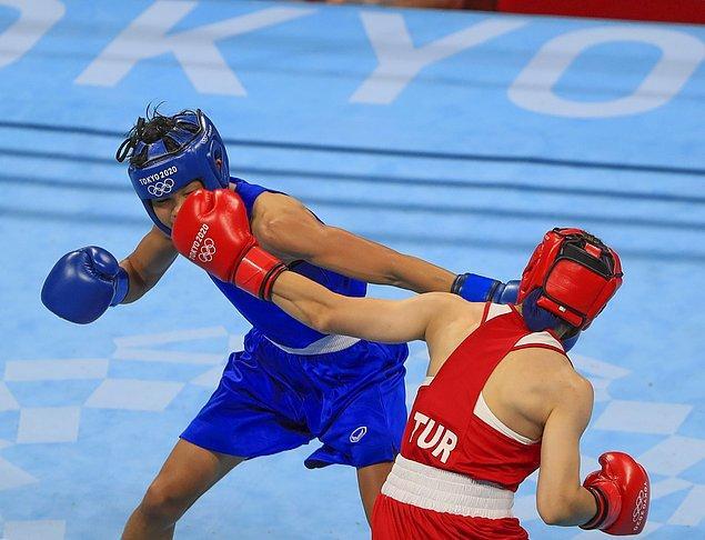 Çakıroğlu'nun yarı finaldeki rakibi Çin Taipeisi'nden Huang