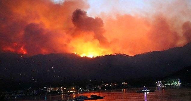 Ardından ülkenin her yerinde dikkatsizlik, mevsimsel nedenler ve iklim krizinin tetiklemesiyle yangınlar başladı.