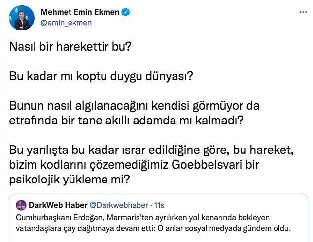 Tayyip Erdoğan otobüsün tepesinden halka çay fırlatıyordu.  Peki neden?