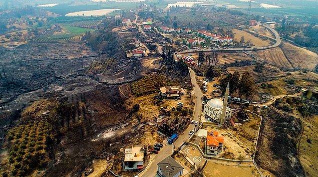 Türkiye'nin birçok yerinde çıkan ve bir türlü kontrol altına alınamayan yangınlarla ciğerlerimiz, evlerimiz yanıyor. Elimizden kahrolmaktan başka bir şey de gelmiyor ne yazık ki!