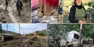 Güneyde Yangın Doğuda Sel: Van'ın Başkale İlçesindeki Sel Felaketinden Görüntüler 📷