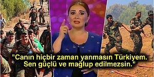 Dört Bir Yanımızda Süren Yangınlarla İlgili Azerbaycanlı Spikerin Sözleri Herkesin Boğazını Düğüm Düğüm Etti