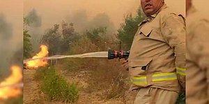 Manavgat'taki Yangına Müdahale Ederken Hayatını Kaybeden Yaşar Cinbaş'ın Son Görüntüleri Ortaya Çıktı