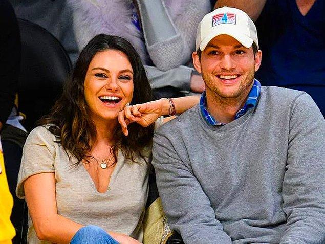 13. Gerek olmadıkça çocuklarını yıkamadıklarını dile getiren Mila Kunis ve Ashton Kutcher çifti herkesi şaşırttı.
