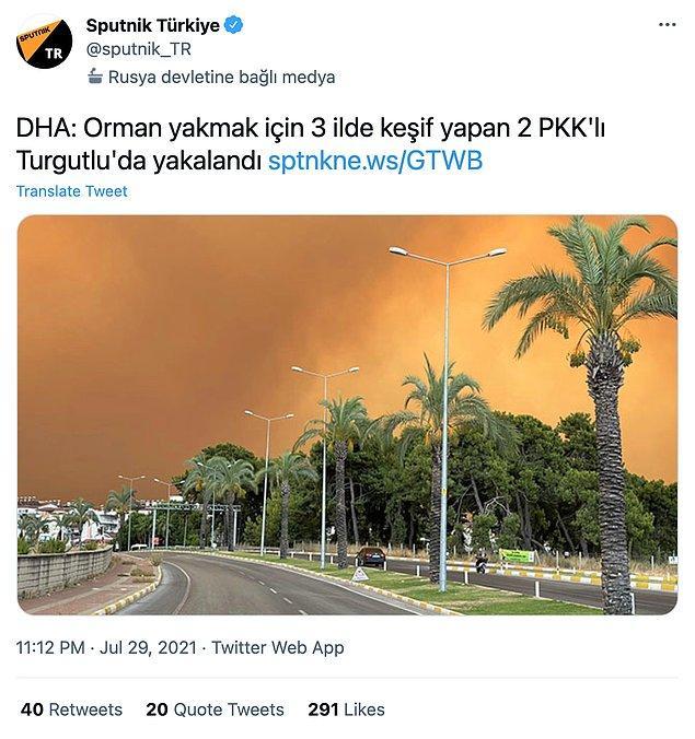 1. İlk olarak Manisa'da gözaltına alınan 2 kişinin orman yangınları ile bir ilgileri olduğu söylenmişti...