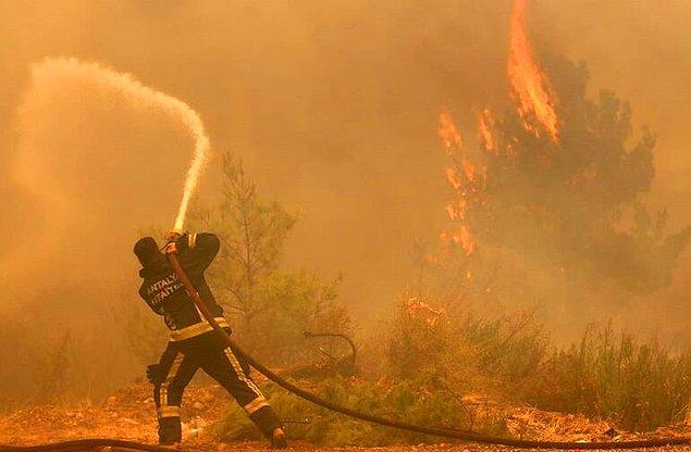 Alanya Belediye Başkanı: Güzelbağ'daki Yangın Kontrol Altında