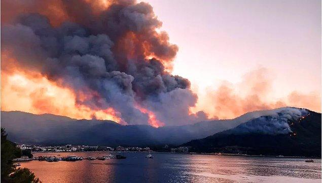 Biliyorsunuz ki 4 gündür Türkiye'nin dört bir yanında çıkan yangınlar kontrol altına alınmaya çalışılıyor.