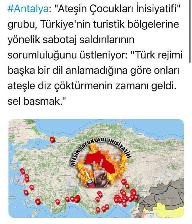 """""""Ateşin Çocukları İnisiyatifi"""" Üstlendi"""