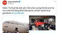 Ormanlarımız Cayır Cayır Yanarken... AKP, Katar'ın Desteği Üzerinden Muhalefete Sataştı...