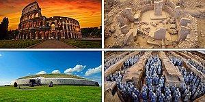 Dünyaya Tam Anlamıyla Kazık Çakan ve Hala Aktif Bir Şekilde Gezilebilen En Eski 9 Yapıt