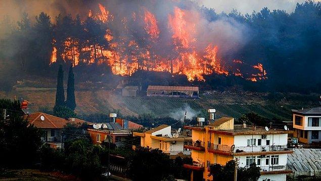 Günlerdir alev alev yanıyoruz, tüm Türkiye'nin aklı, kalbi güneydeki ormanlarda...