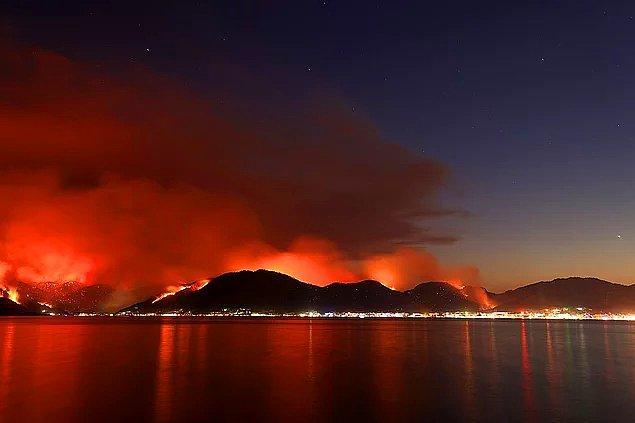 Bildiğiniz üzere ülkemizin dört bir yanı günlerdir kontrol edilemeyen bir şekilde yanıyor.
