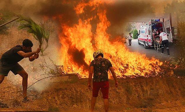Yangın bölgelerinde ve yakın çevrelerde yer alan vatandaşlar günlerdir gerek yangını söndürme çalışmalarında gerekse koordinasyon merkezlerinde gece gündüz demeden çalışıyor. Terler akıta akıta bu mücadelenin bir ucundan tutuyorlar, küçük ya da büyük fark etmeden...