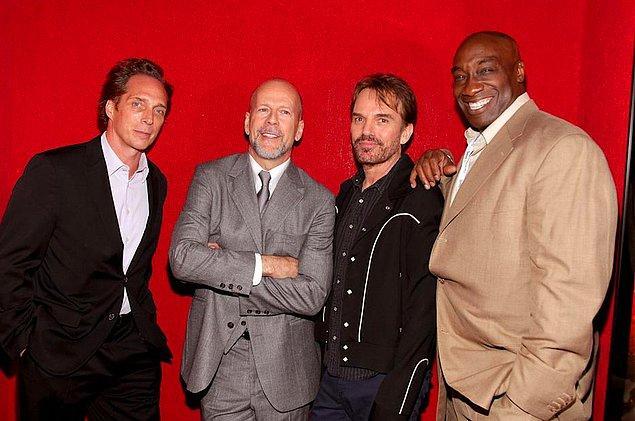 5. Michael Clarke Duncan, o ikonik role arkadaşı Bruce Willis sayesinde geldi.