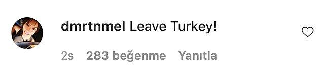 """""""Türkiye'yi terk et!"""""""