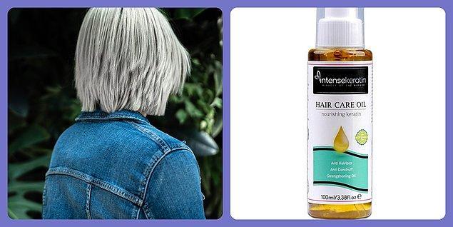 9. Güneş ve deniz yüzünden yıpranan saçlarınızı onarıp bakım yapacak bir serum.