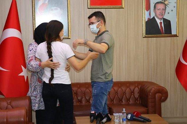 2 PKK'lı Aileleriyle Buluşturuldu